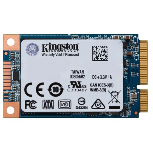 SSD Kingston mSATA 480GB UV500, SATA3.0, 520/500 MB/s, AES 256bit, 3D TLC NAND 140338