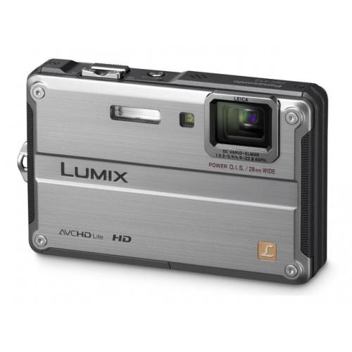 Digitalni fotoaparat Panasonic Lumix DMC-FT2 (srebrn)