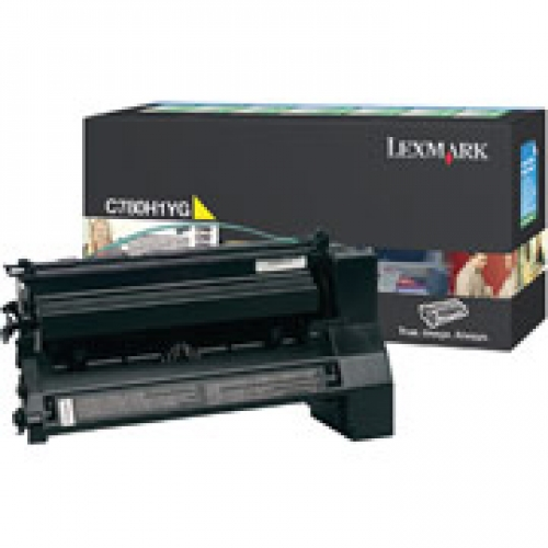 Toner C780/782/X782 10k yellow