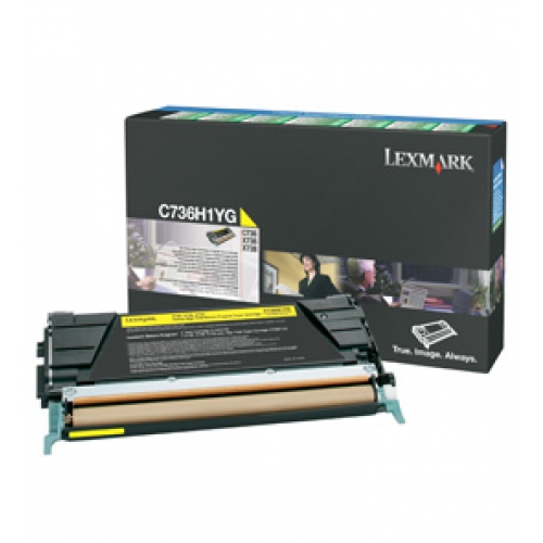 Toner C736/X73X Yellow 10k
