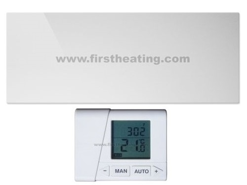 IR grelni panel First Heating WIST Elegant Ogledalo 1300W +termostat (1500x60x3,5)