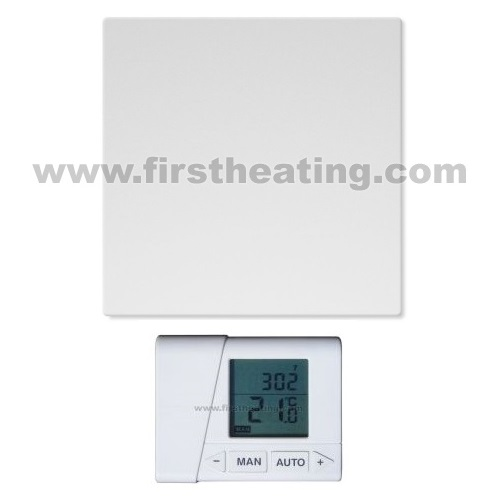 IR grelni panel First Heating WIST Elegant 500W B/Č/BS/ČS +termostat (60x60x2,3))