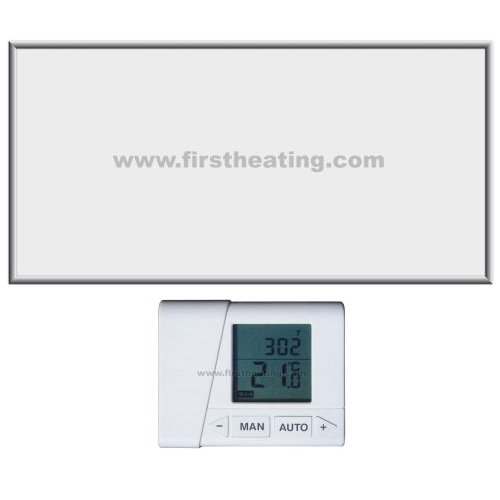 IR grelni panel First Heating ECO Premium 2000 W– ogledalo + termostat (120x60x3,5)