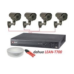 VIDEO NADZORNI KOMPLET DAHUA LEAN-T700