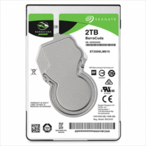 "Seagate 2TB 2,5""(6,35cm) 5400 128MB 7mm Barracuda"
