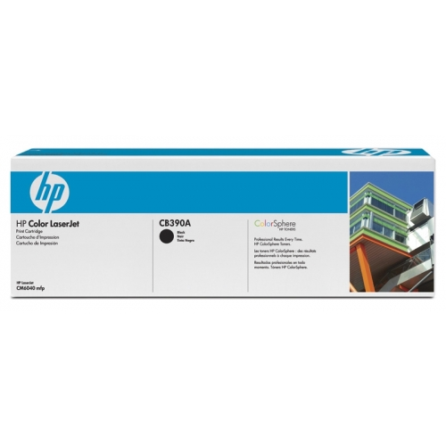 HP CM6040mfp Black Print Cartridge YCB390A