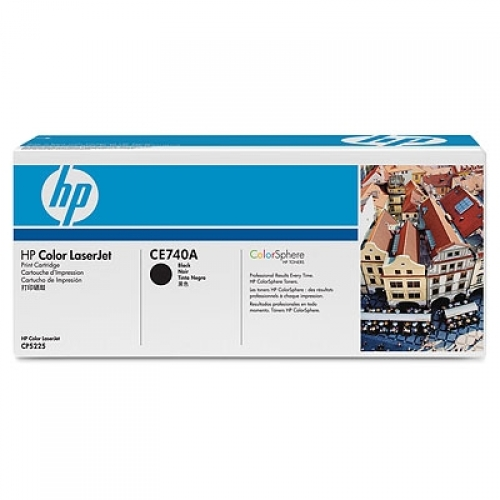 HP 307A Black LaserJet Toner Cartridge YCE740A