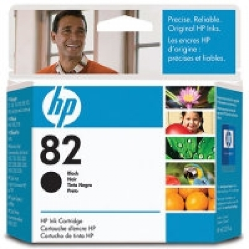 (HP82) Inkjet Cartridge, Black YCH565A