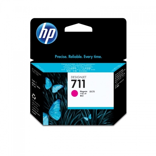HP 711 29-ml Magenta Ink Cartridge YCZ131A