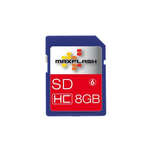 Spominska kartica Secure Digital (SDHC) 8GB Max-Flash (Class 6)
