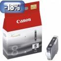 ČRNILO CANON CLI-8 ČRNO ZA IP4200/4300/5200/5300/660D/6700D/PRO9000 13ml (0620B001AF)