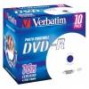 MEDIJ DVD-R VERBATIM 10PK printable široke škatlice 071913