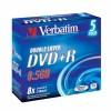 MEDIJ DVD+R VERBATIM  5PK široke škatlice 072122