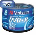 MEDIJ DVD+R VERBATIM 50PK tortica 072340
