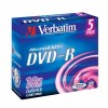 MEDIJ DVD-R VERBATIM 5PK široke škatlice 072341