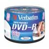 MEDIJ DVD-R VERBATIM 50PK printable tortica 073966