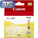 ČRNILO CANON CLI-521 RUMENO ZA IP3600/4600/MP540/MP620 ZA 12ml 086179