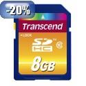 SDHC TRANSCEND 8GB 200X PREMIUM, 30MB/s, Speed Class 10 (C10) 094495