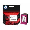 ČRNILO HP BARVNO 651 za Deskjet IA 5575, 5645 (C2P11AE)