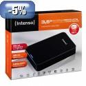 """HDD Intenso EXT 3TB MEMORY CENTER, 3,5"""" USB 3.0,b 85MB/s,p 75B/s"""