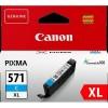 ČRNILO CANON CLI-571 CYAN XL ZA MG5750, 11ml (0332C001AA)