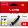ČRNILO CANON CLI-571 RUMENO XL ZA MG5750, 11ml 126607