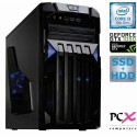 Namizni računalnik PCX EXAM GAMING 1.3 (i3-8100/8GB/SSD120 GB+1TB/NV1050 2GB) (PCX EXAM GAMING 1.3)