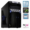 Namizni računalnik PCX EXAM GAMING 2.3 (i5-8400/8GB/SSD 240GB+HDD 1TB/NV1050-4GB) (PCX EXAM GAMING 2.3)