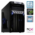 Namizni računalnik PCX EXAM GAMING 3.3 (i5-8400/8GB/NVMe 240GB+HDD 2TB/NV1060-3GB) (PCX EXAM GAMING 3.3)