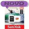 SDXC SANDISK MICRO 128GB EXTREME KAMERA/DRON, 160/90MB/s, UHS-I Speed Class 3, V30, adapter