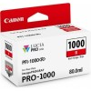 Canon PFI-1000 R rdeča kartuša BS0554C001AA