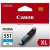 Canon CLI-551 C cyan XL kartuša BS6444B001AA