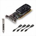 Grafična kartica PNY Quadro P1000 4GB GDDR5 PCIe 3.0