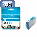 HP 364 Cyan Ink Cartridge with Vivera Ink YCB318EE