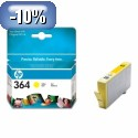 HP 364 Yellow Ink Cartridge with Vivera Ink YCB320EE