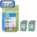HP 343 2XcC8766EE Pack YCB332EE