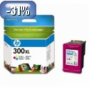 HP 300XL Tri-color Ink Cartridge YCC644EE