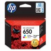 HP 650 Tri-color Ink Cartridge YCZ102AE