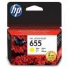 HP 655 Yellow Ink Cartridge YCZ112AE