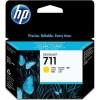 HP 711 29-ml Yellow Ink Cartridge YCZ132A